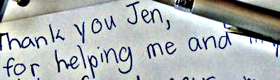 Thank You Jen